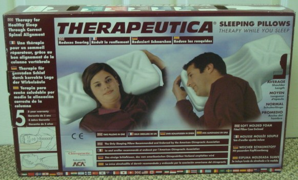 Therapeutica Cervical Pillow