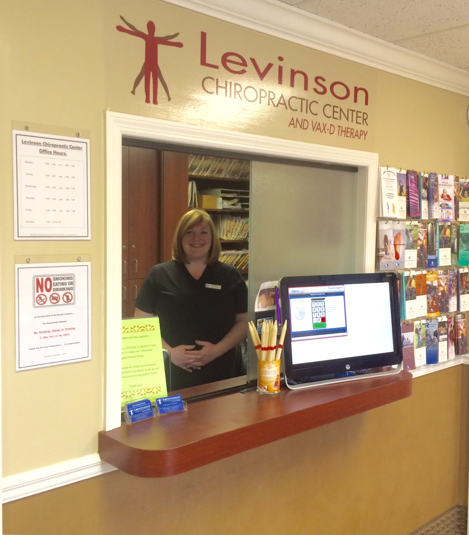 Dr. Levinson   Office Staff Gail Beckham